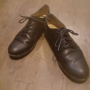 Leather Frye Oxfords